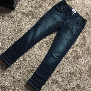 Paige Maternity skinny jeans, size 26.